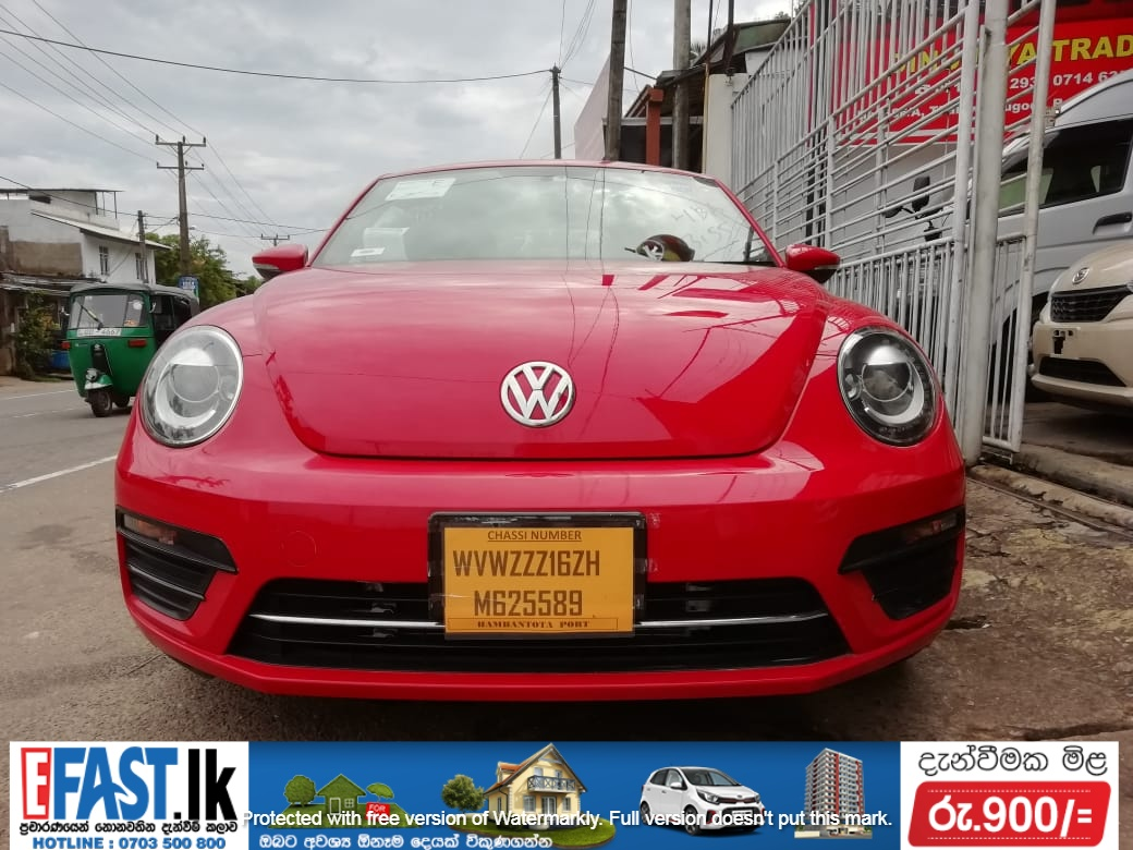VOLKSWAGEN BEETLE TURBO | SALE | COLOMBO
